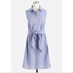 J. Crew factory dress end on end chambray size XXL